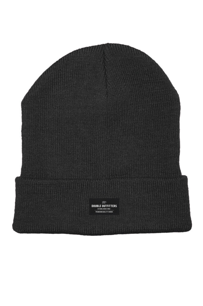 DOUBLE OUTFITTERS Beanie Black