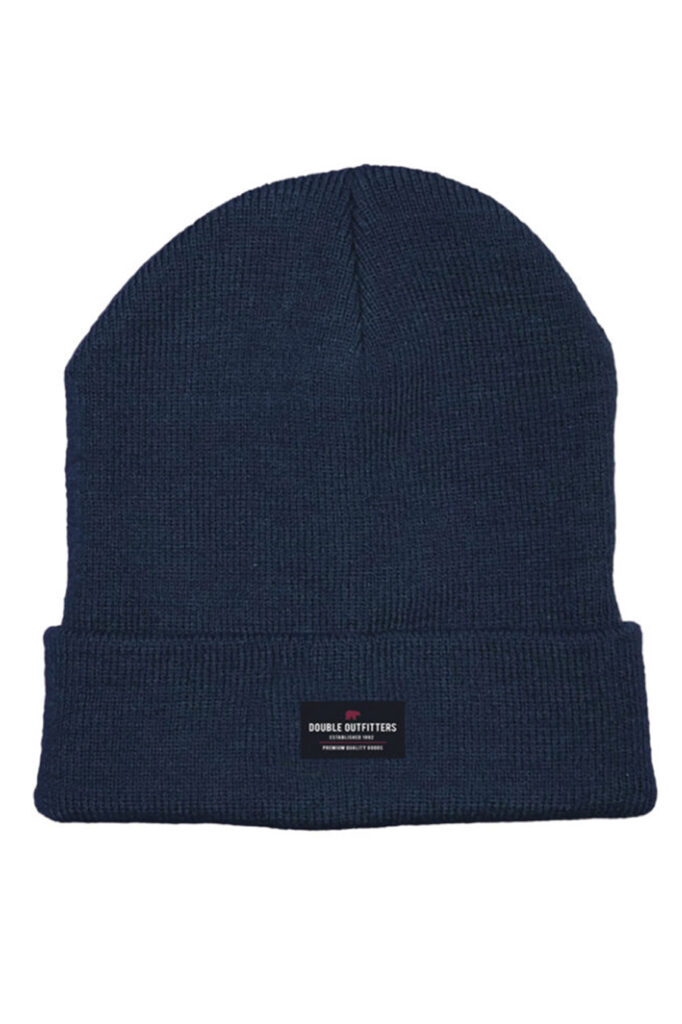 DOUBLE OUTFITTERS Beanie Navy