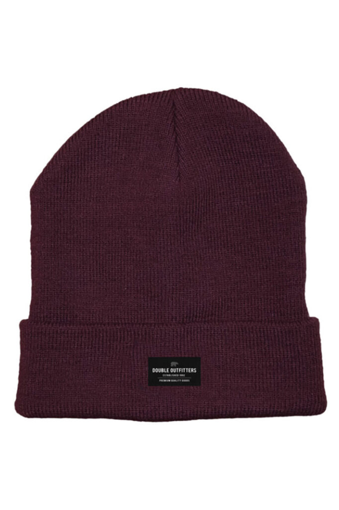 DOUBLE OUTFITTERS Beanie Burgundy