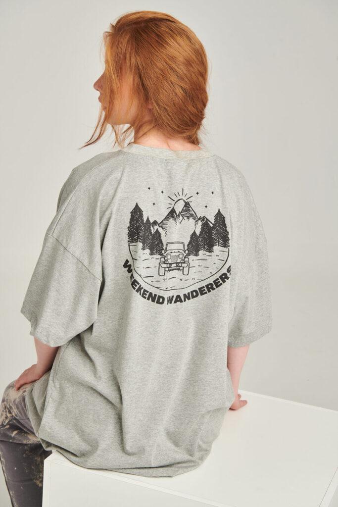 PCP Women's Grey Weekend Wanderers T-shirt