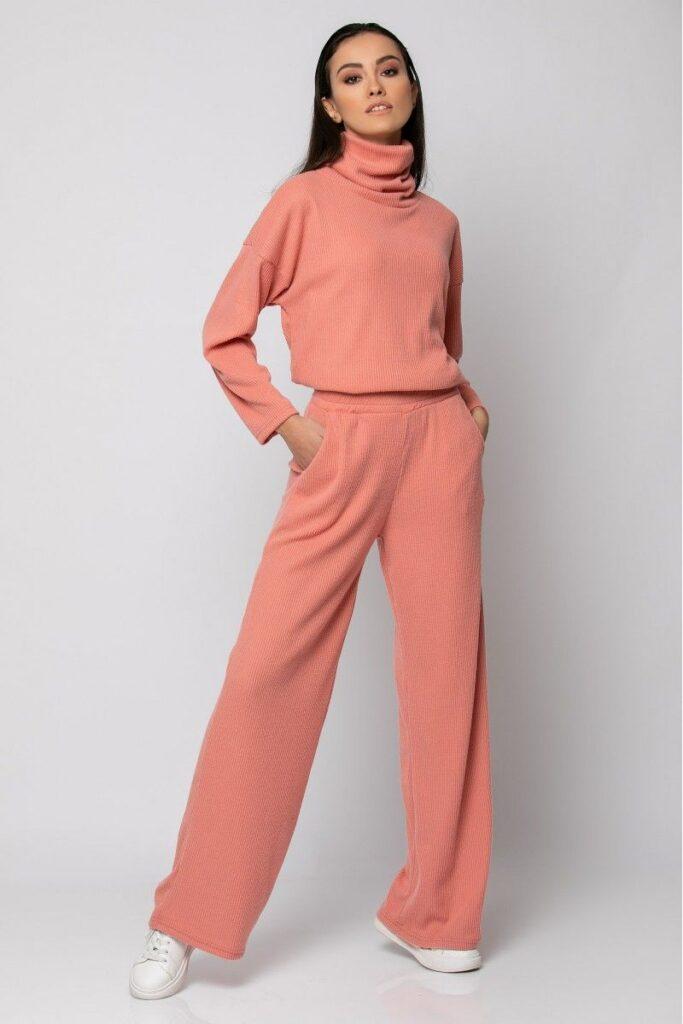 Orange pastel set (top & trousers)