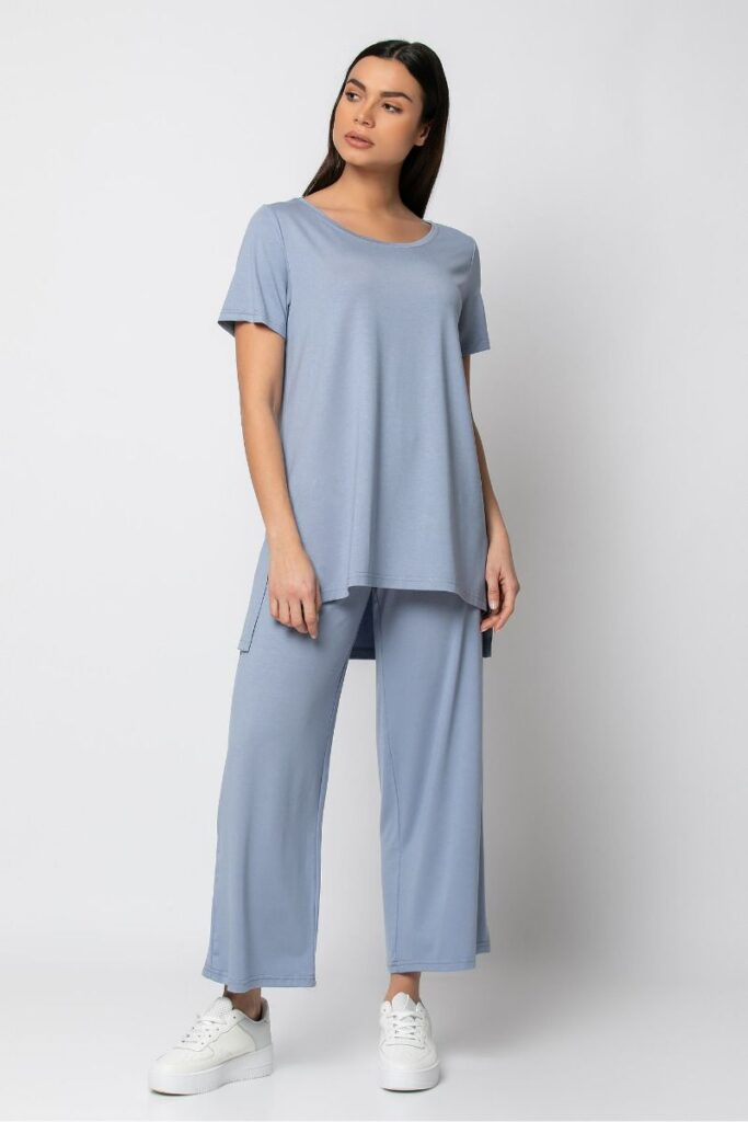 Blue set with T-Shirt