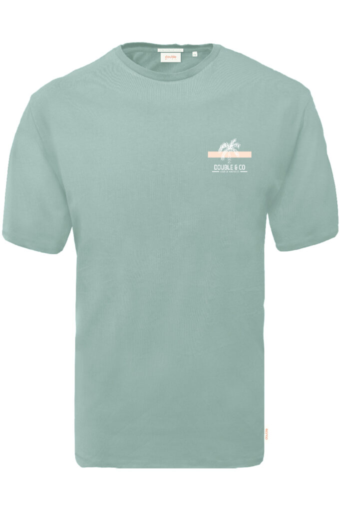 DOUBLE OUTFITTERS T-Shirt Mint