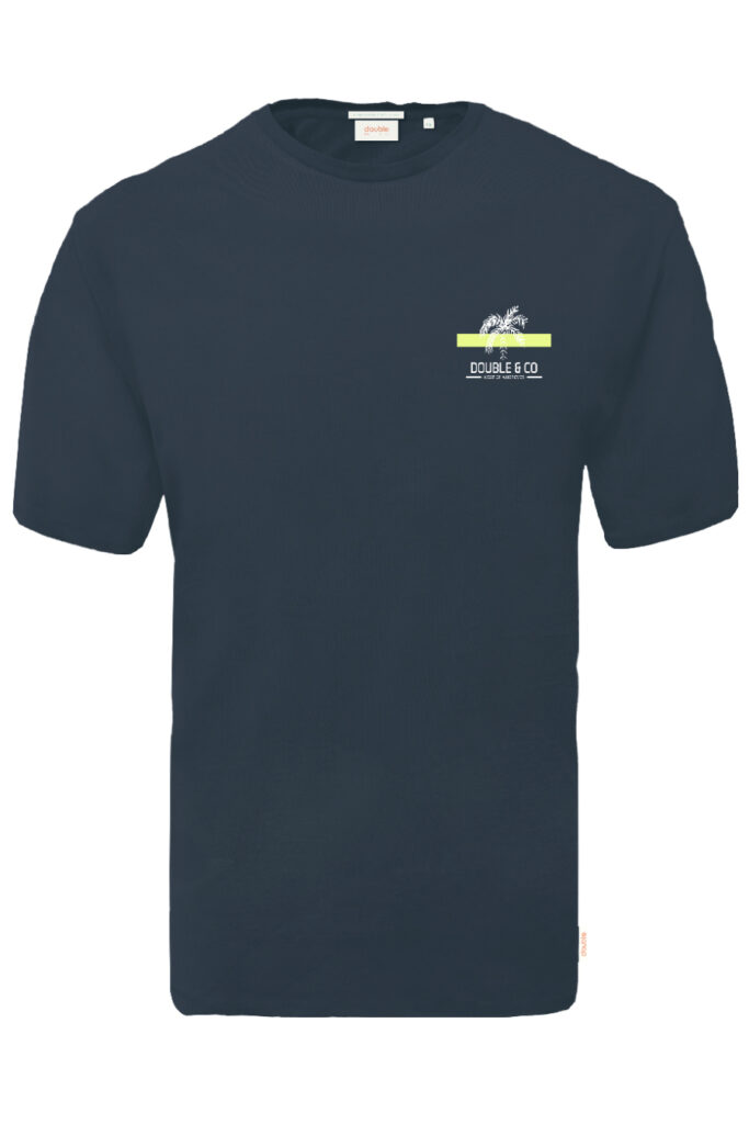 DOUBLE OUTFITTERS T-Shirt Navy