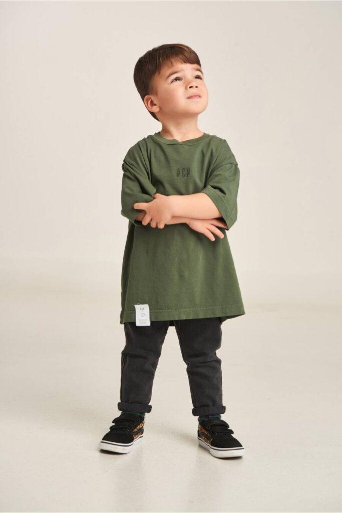 PCP Kiddo Boy's T-Shirt Olive