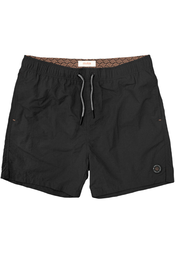 DOUBLE OUTFITTERS Swimwear Shorts Black