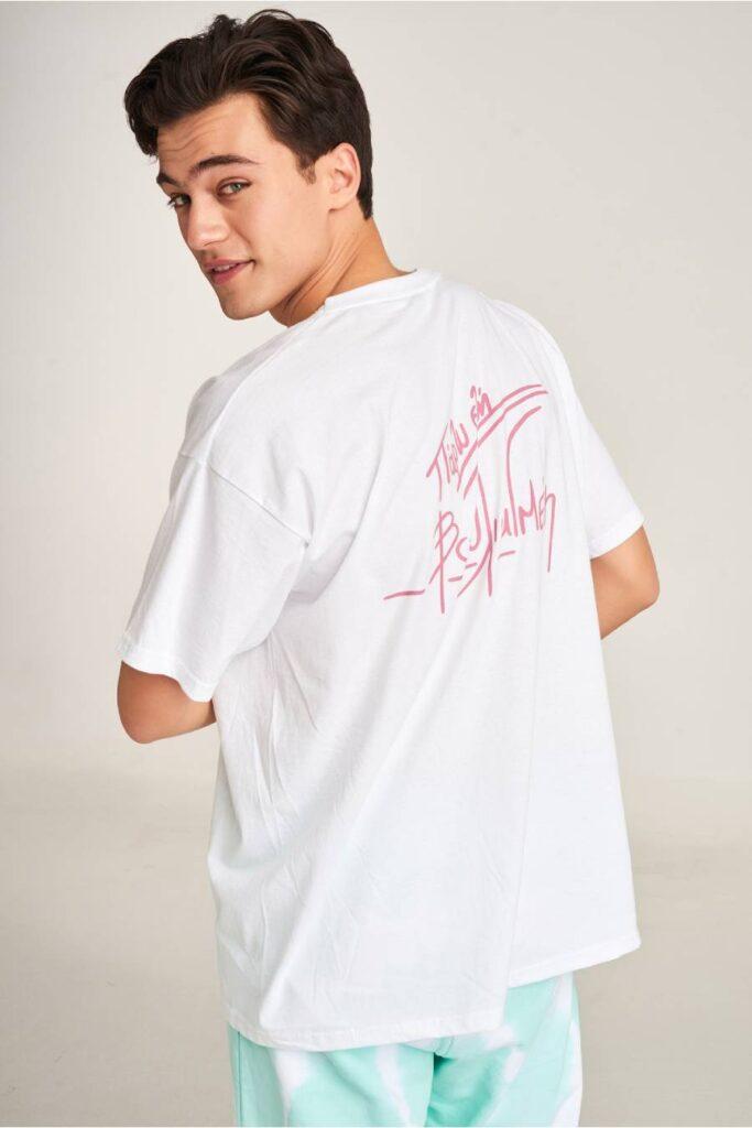 PCP Men's T-shirt Cocktail White