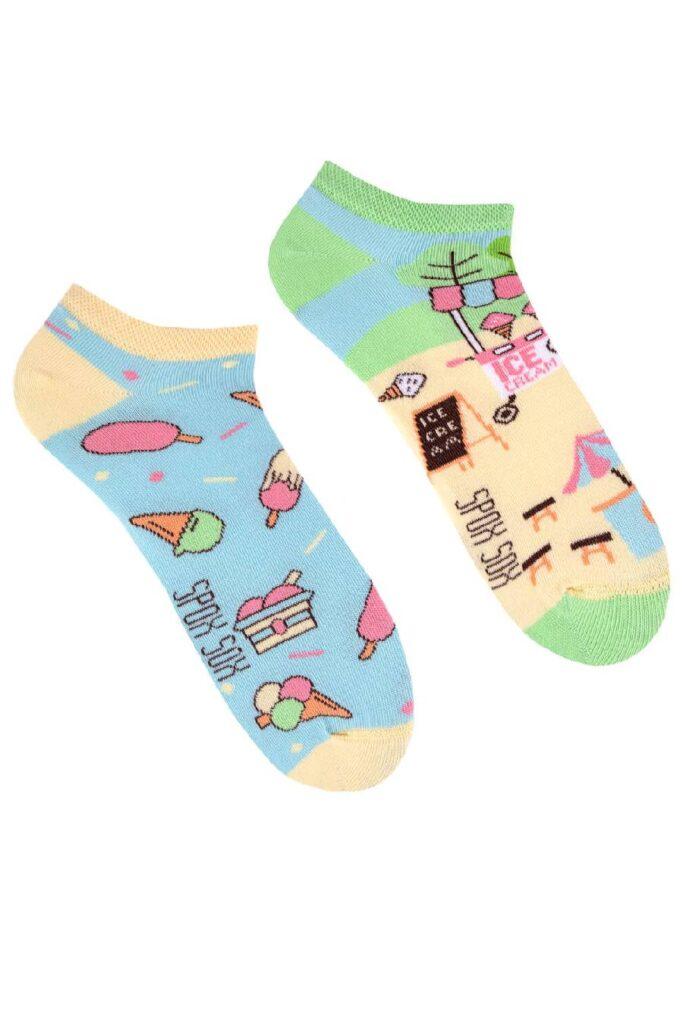 Ice cream low socks