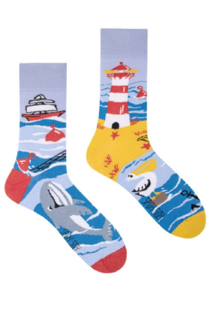 Sea coast socks