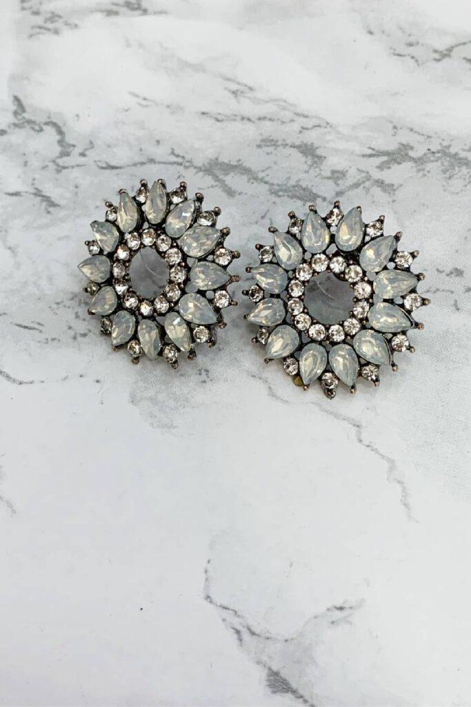 Selena statement earrings