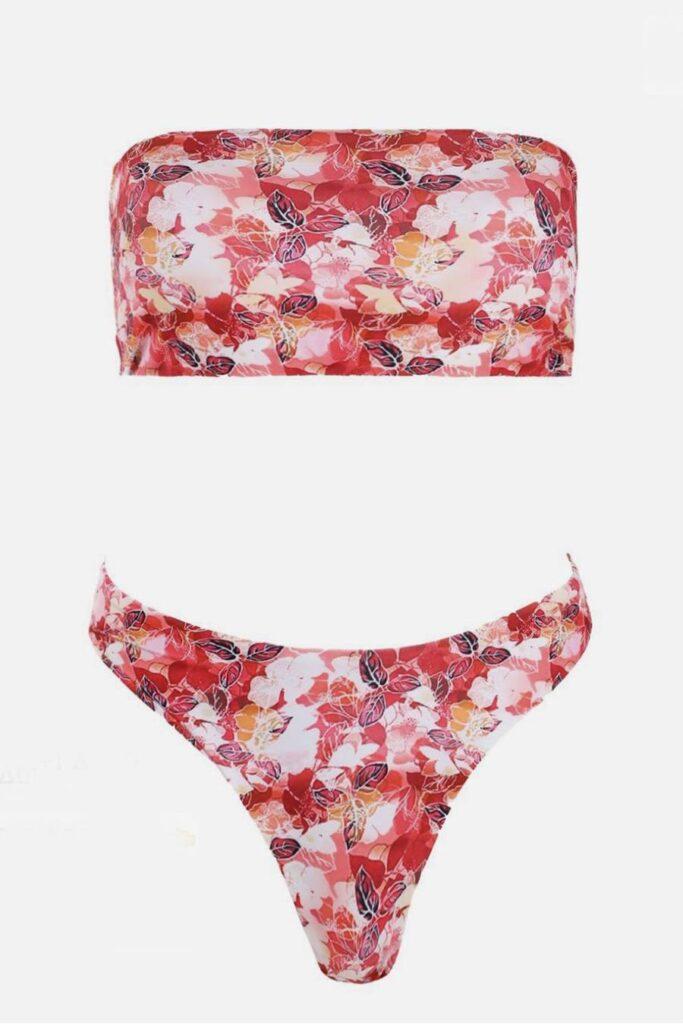 Flora strapless bikini