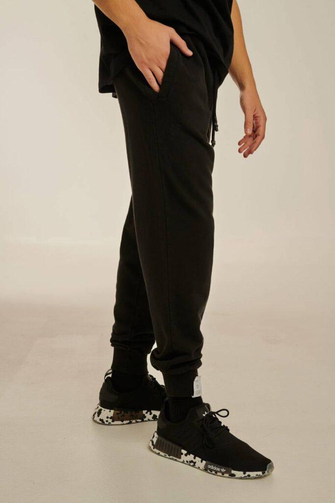 PCP Ανδρικό Bae Παντελόνι Μαύρο