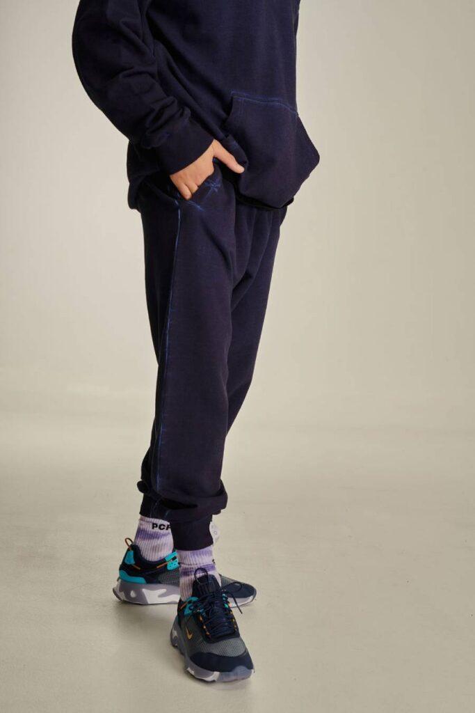 PCP Ανδρικό Bae Παντελόνι Κρύα Βαφή Σκούρο Μπλε