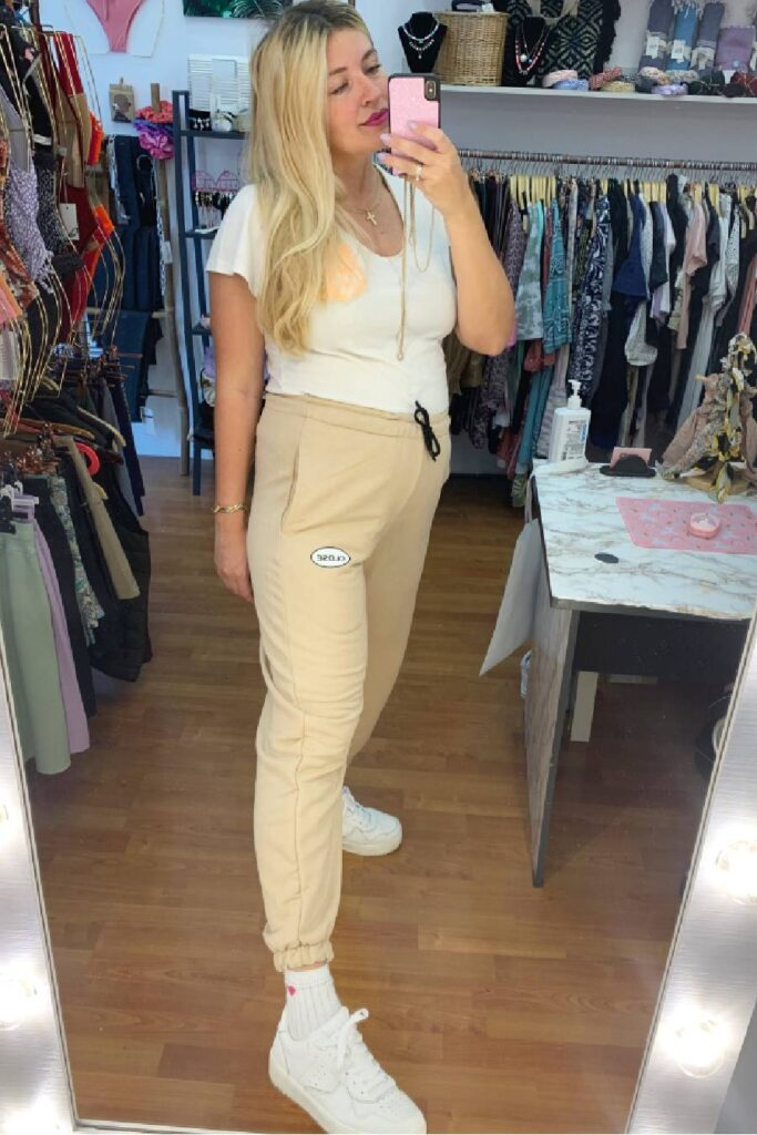 CLVSE SOCIETY BEIGE TRACKSUIT FOR HER