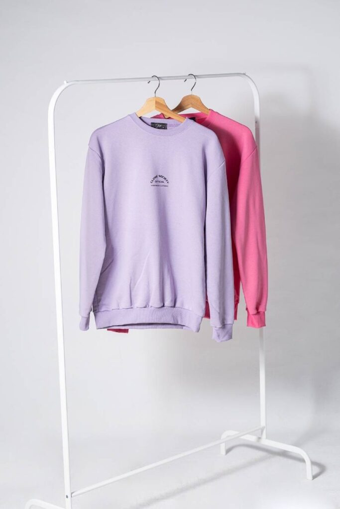 CLVSE SOCIETY LILAH CREW NECK SWEATER FOR HER