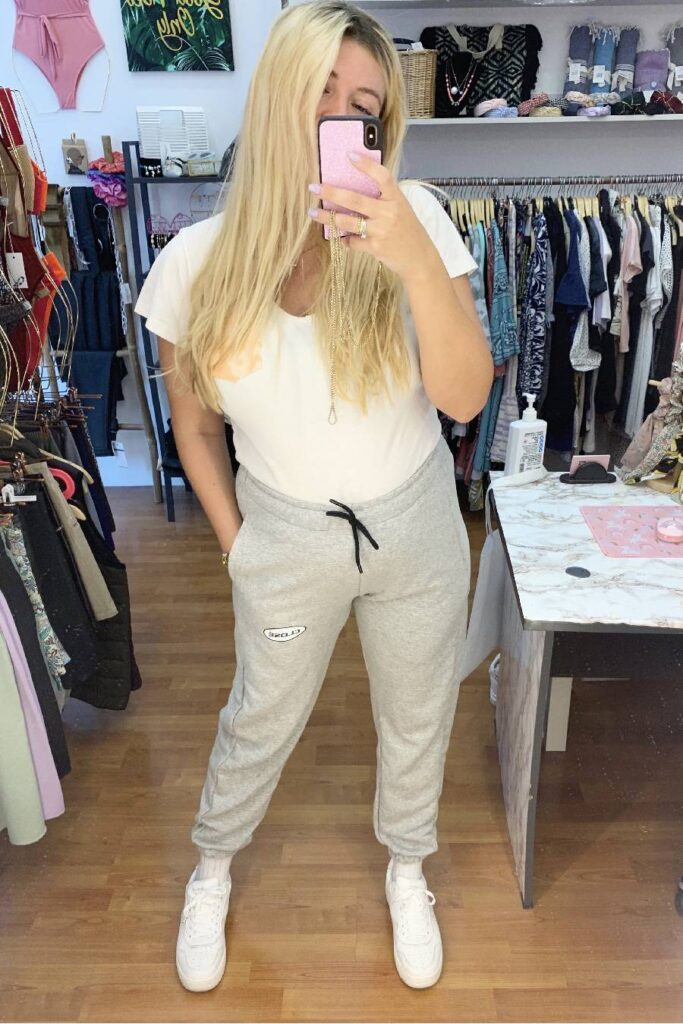CLVSE SOCIETY GREY TRACKSUIT FOR HER